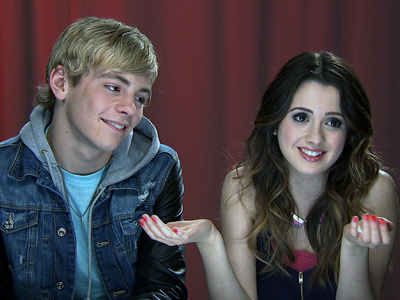 'Austin and Ally' stars talk show, each other