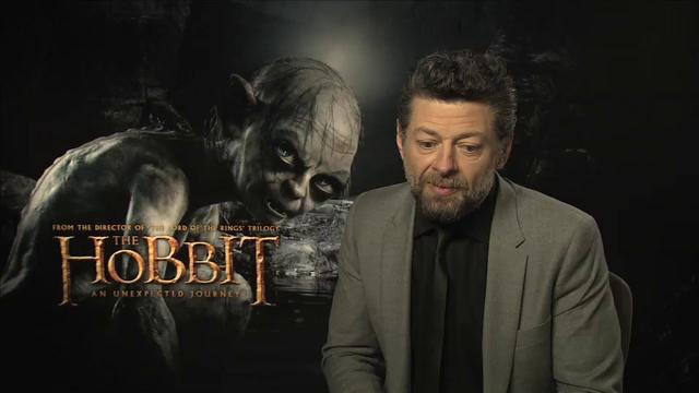 Exclusive clip: Andy Serkis on 'The Hobbit'