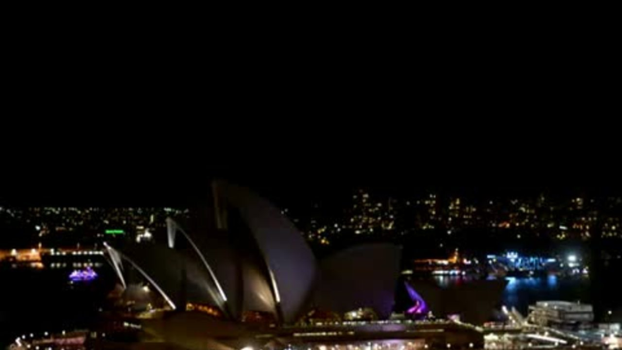 "Millions switch off lights for ""Earth Hour"""