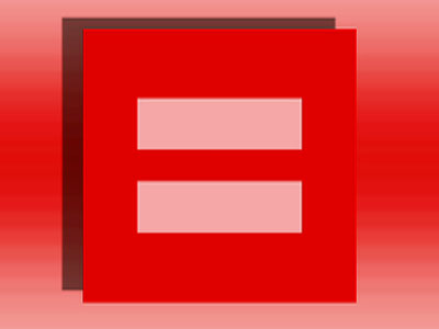 Gay rights group shades logo red, goes viral