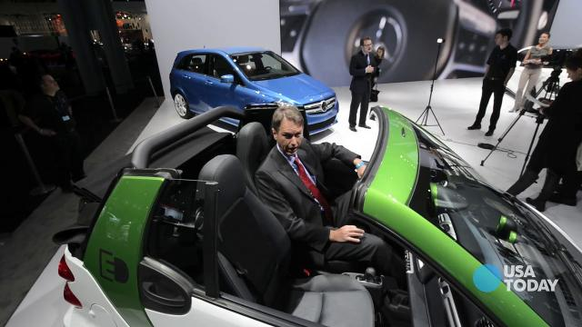 USA Today's Chris Woodyard looks at the new Smart Electric and Mercedes B class