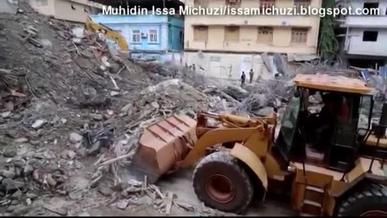 At least 34 dead in Tanzania building collapse
