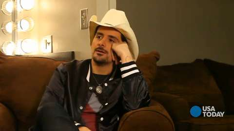 Brad Paisley knows what it's like to break a G-string