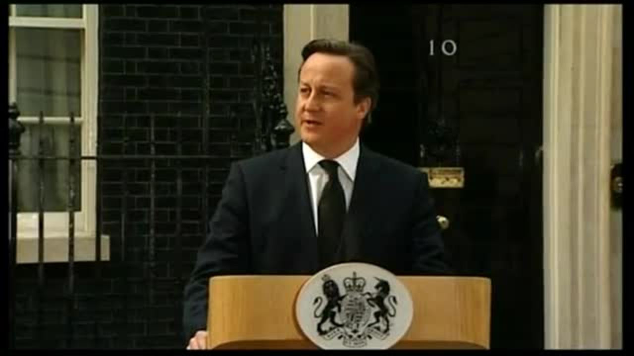 Cameron on Thatcher: 'She defied them all'