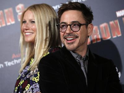 Downey Jr. 'really happy to be back'