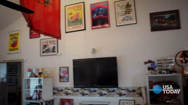Today Show Man Cave Contest : Garage these days it can be a man or woman cave