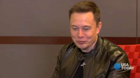 Icons: Elon Musk looks into the future of cars, space travel