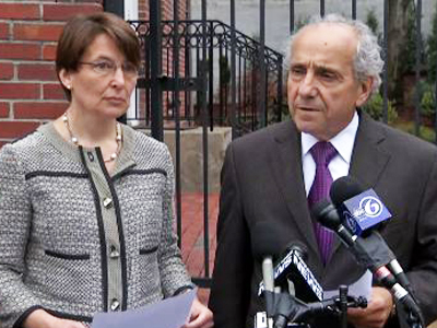 Lawyers: Bombing suspect's wife assisting probe