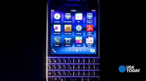 Baig: BlackBerry Q10 fills a niche for keyboard fans