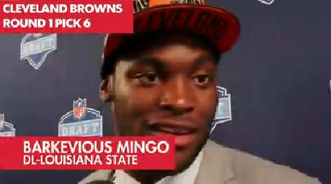 NFL Draft Barkevious Mingo Interview: NFL Draft Barkevious Mingo