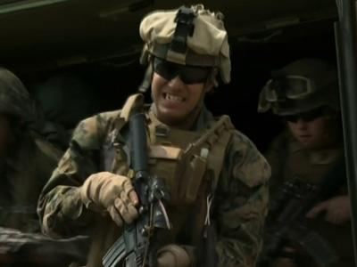Raw: U.S., S. Korea hold joint military drill