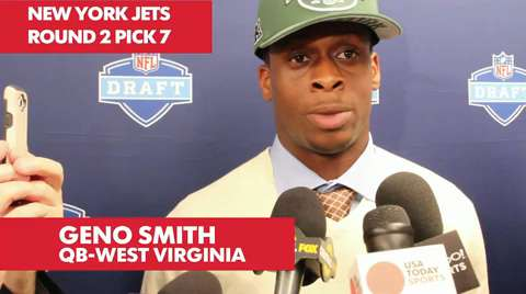 Geno Smith drafted by Jets