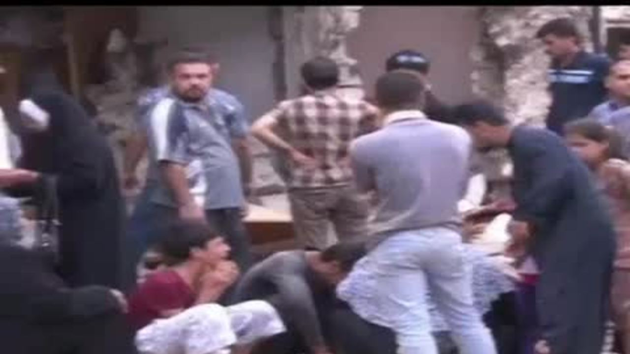 Iraqi cities hit by deadly wave of bombings