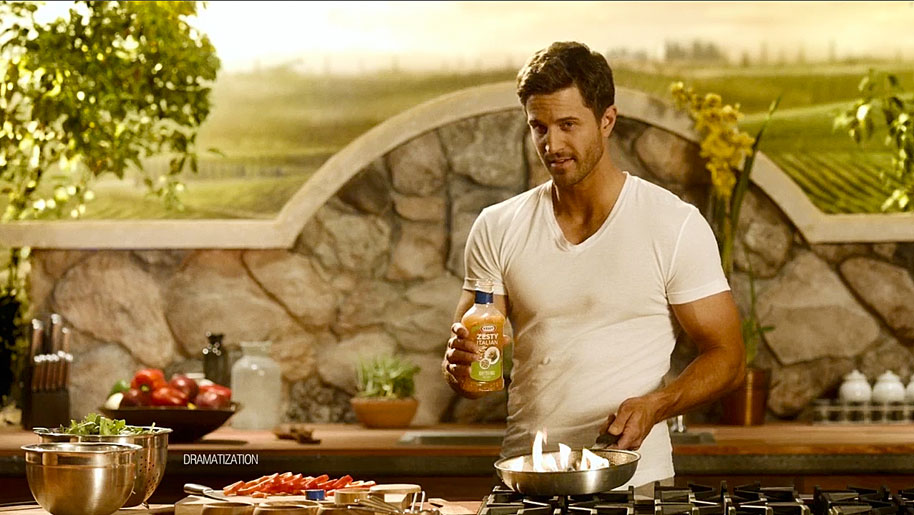 Ad trend: Hot hunks