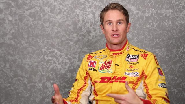 Ryan Hunter-Reay: on the Indy 500