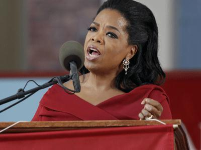 Oprah Winfrey delivers Harvard commencement