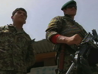 Karzai: Afghan forces take security lead from NATO