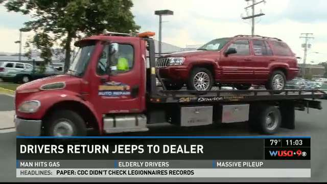 Owners attempt to return JEEP vehicles
