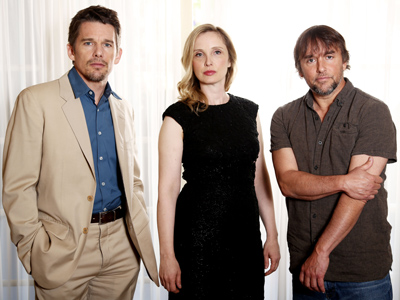 Hawke and Delpy reunite 'Before Midnight'