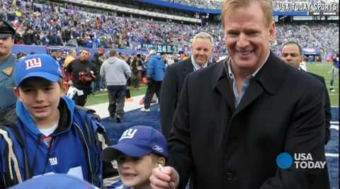 NFL's Roger Goodell: Appetite for football is worldwide