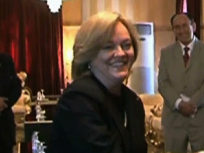 Raw: New US Ambassador Arrives in Libya