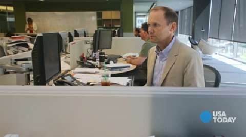 Morningstar CEO Joe Mansueto works at a 'cubicle'