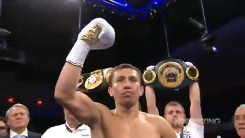 Boxer Gennady Golovkin's highlights