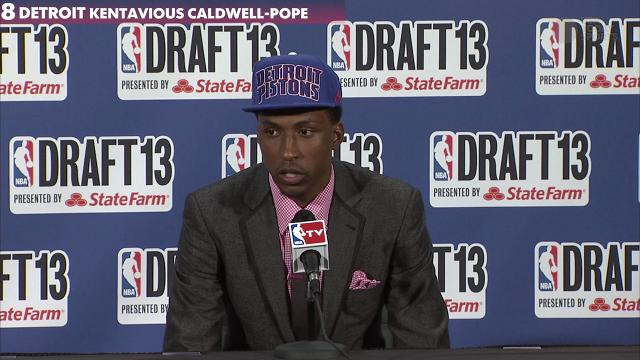 Kentavious Caldwell-Pope talks about being drafted...