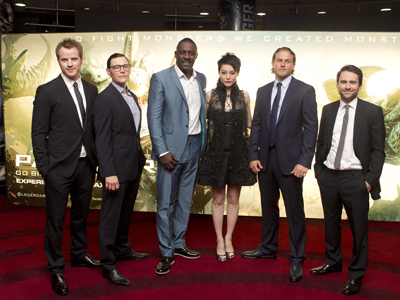 pacific rim cast  Pacific Rim' cast loves