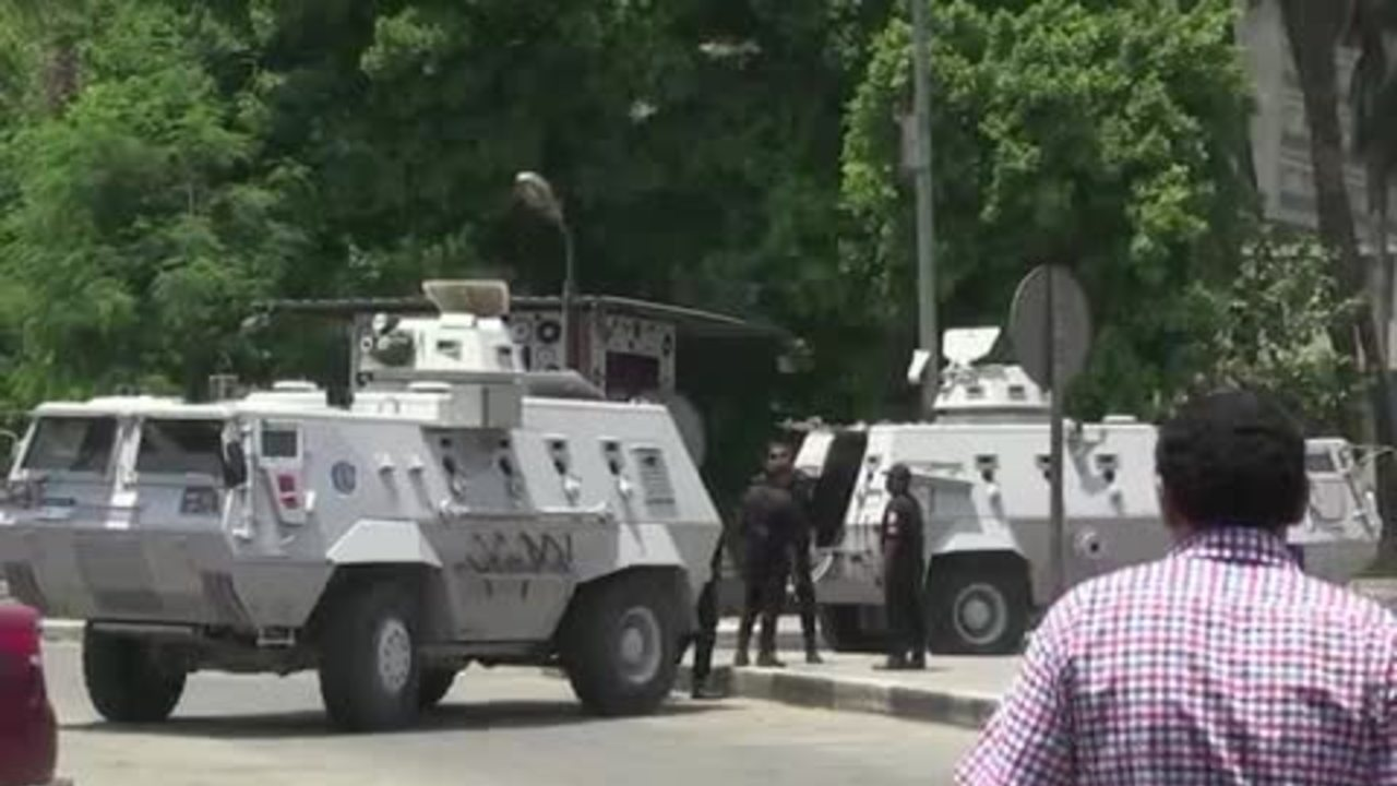 Cairo tense ahead of protests