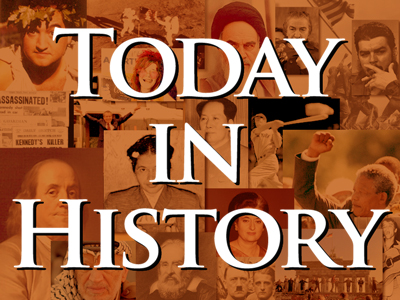 Today in History for  July 8th