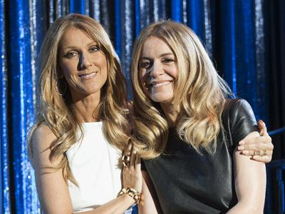 Celine Dion helps launch Veronic in Vegas