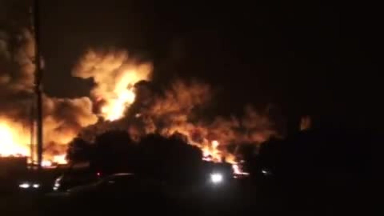 RAW VIDEO: Amateur Video Captures Canada Oil Train Explosion