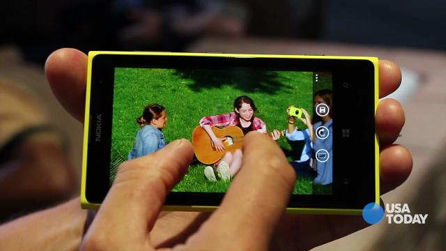 Hands on with the new Lumia 1020 smartphone