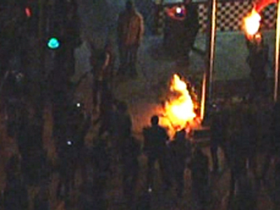 Raw: Protests in Calif. after Zimmerman verdict