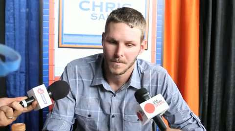 Chris Sale at the All-Star Game