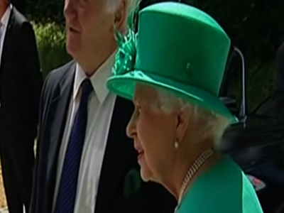 Queen impatient for royal birth?