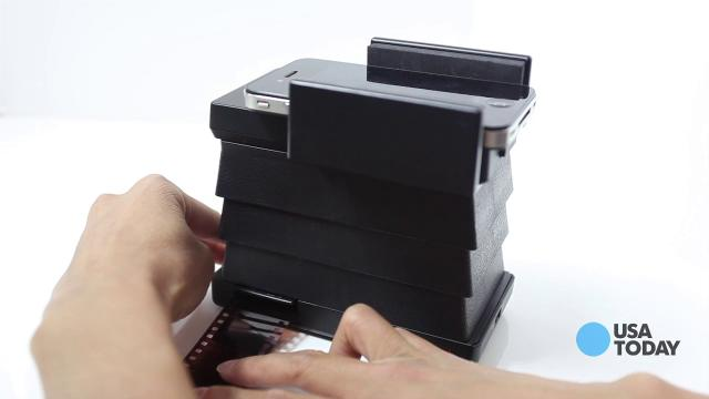 Old meets new: A film scanner for your smartphone
