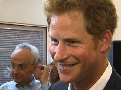 Prince Harry vows to help his nephew 'have fun'