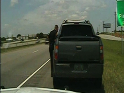 George Zimmerman stopped for speeding in Texas