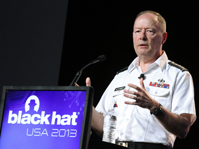 NSA chief talks to skeptical hackers conference