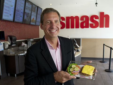 Smashburger thinks outside the box to compete with McDonald's
