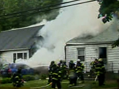 3 missing after plane crashes into Conn. homes