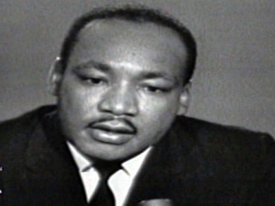 Raw: MLK interviewed days before 1963 march