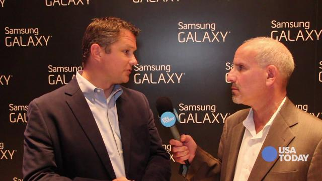 Ed Baig: Hands on with Galaxy Gear