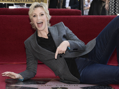 A star for Jane Lynch