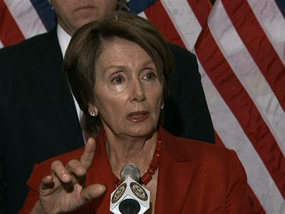 Pelosi: Russian proposal on Syria 'victory'