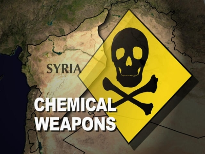 Challenges destroying Syrian chem. weapons