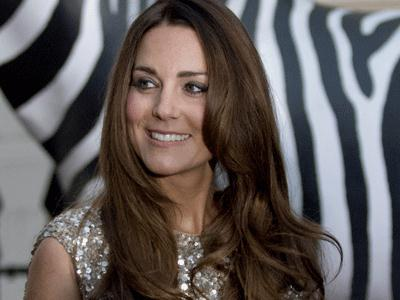 Kate Middleton steps out in Jenny Packham