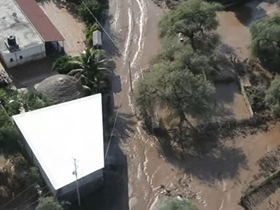 Raw: Mexico reels from storms, aid arrives
